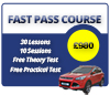 Latest Driving Lesson Products - Fast Pass Automatic Driving Course Cambridge
